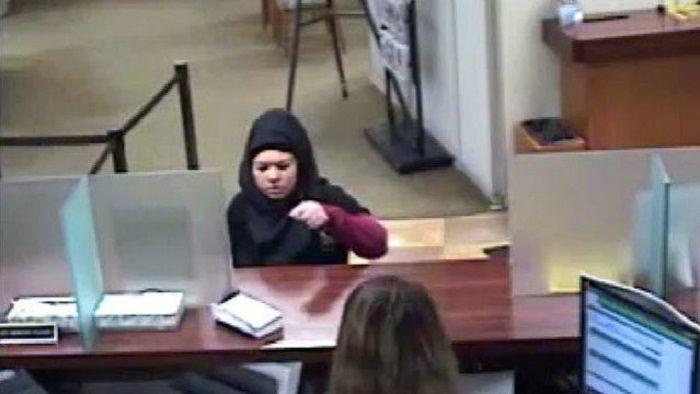 Hijabi Bank Robber