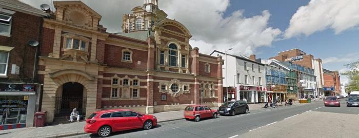 Sidwell Street, Google Street View
