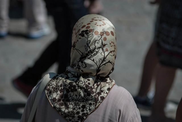 hijab, Daniele Febei/CCBY