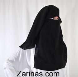 Niqab, Zarinas