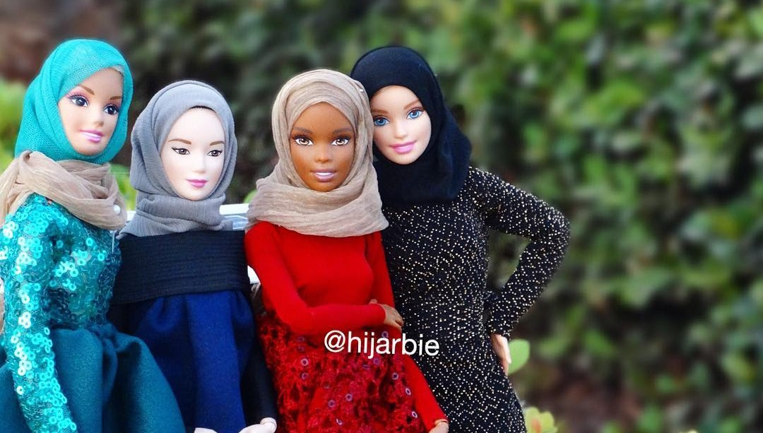 A variety of ethnicities, @hijarbie/Instagram