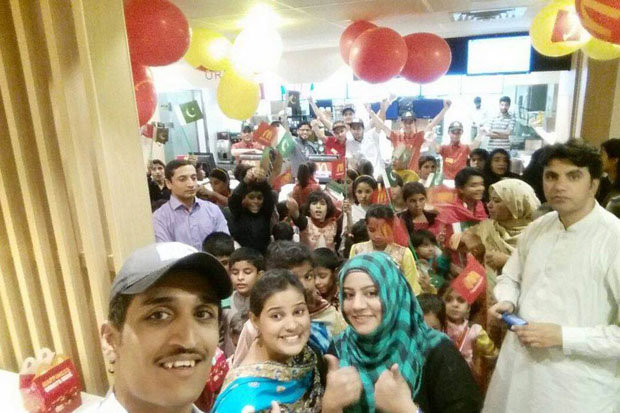 The Opening Of McDonalds in Millenium Mall, Mcdonalds/Facebook