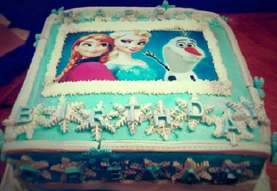 Cake made by Sweetcakez, Sweetcakez/Facebook