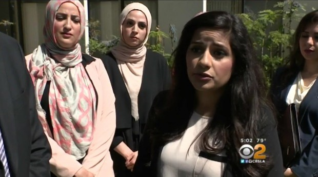 The Muslim Women, KCBS-TV