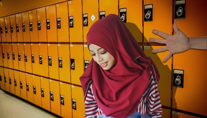 Hijab Pulling