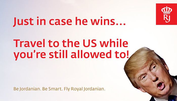 Royal Jordanian Airlines Tweet