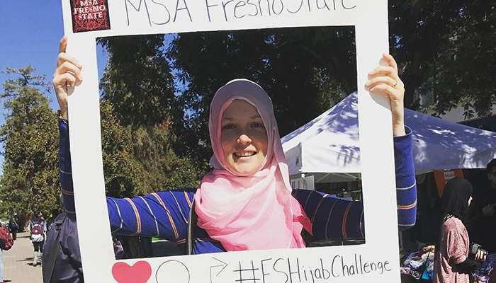 Fresno State Hijab Challenge