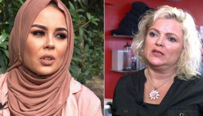 Malika Bayan and Merete Hodne