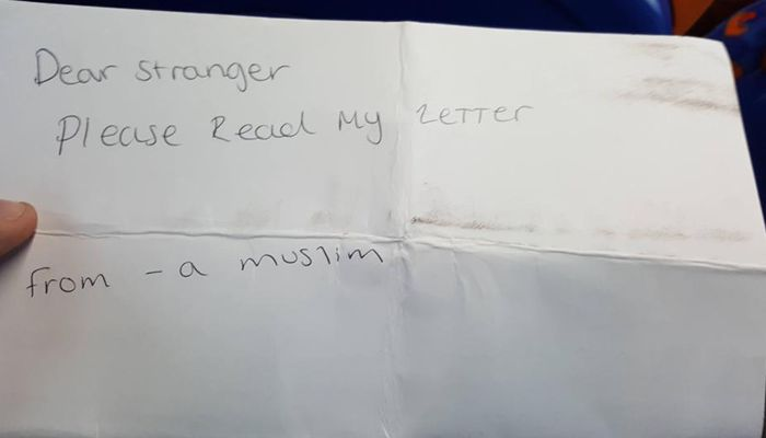 Letter from a 14-year-old Muslim girl