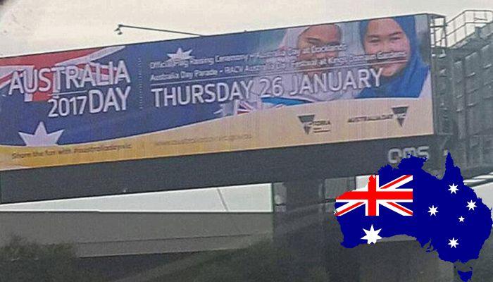 Australia Day Hijabs