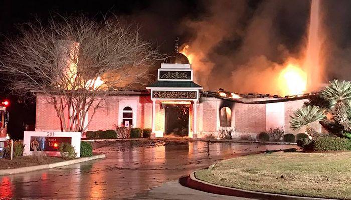 Victoria Islamic Centre blaze