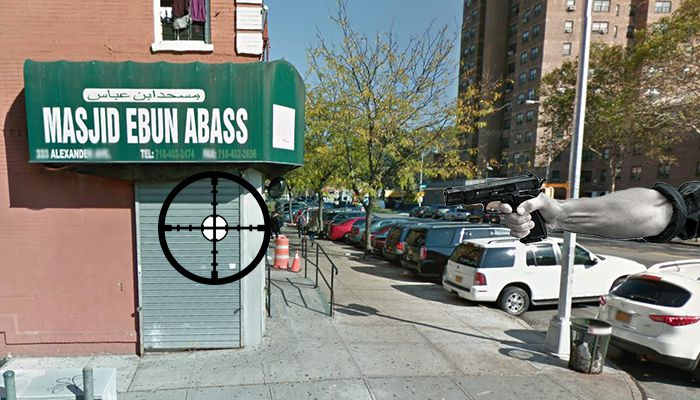 Bronx mosque targeted by pellet gun shooter