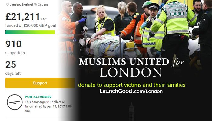 Muslims United for London Terror Attack