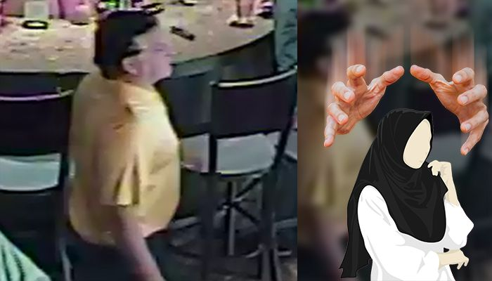 Manchester police search for man who allegedly pulled on woman's hijab